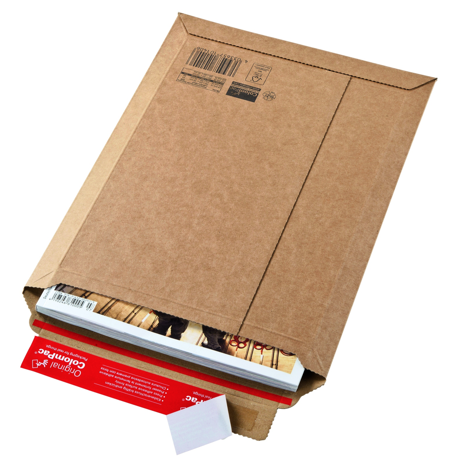CP 10.09 minigolf kartonnen envelop 570 × 420 mm
