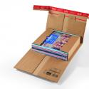 Colompac CP 30.08 minigolf kartonnen boekverpakking formaat 320x320x-60 mm