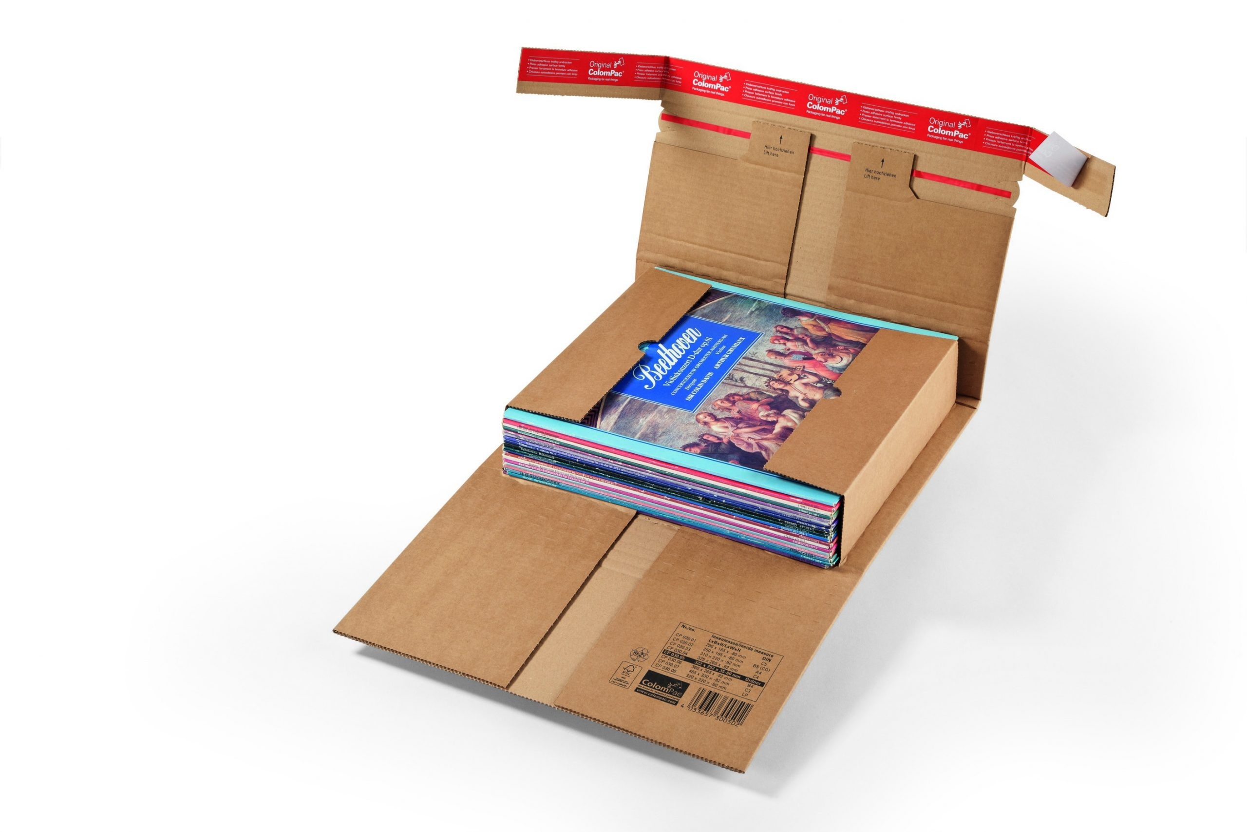Boekverpakking extra veilig Colompac CP 30.02
