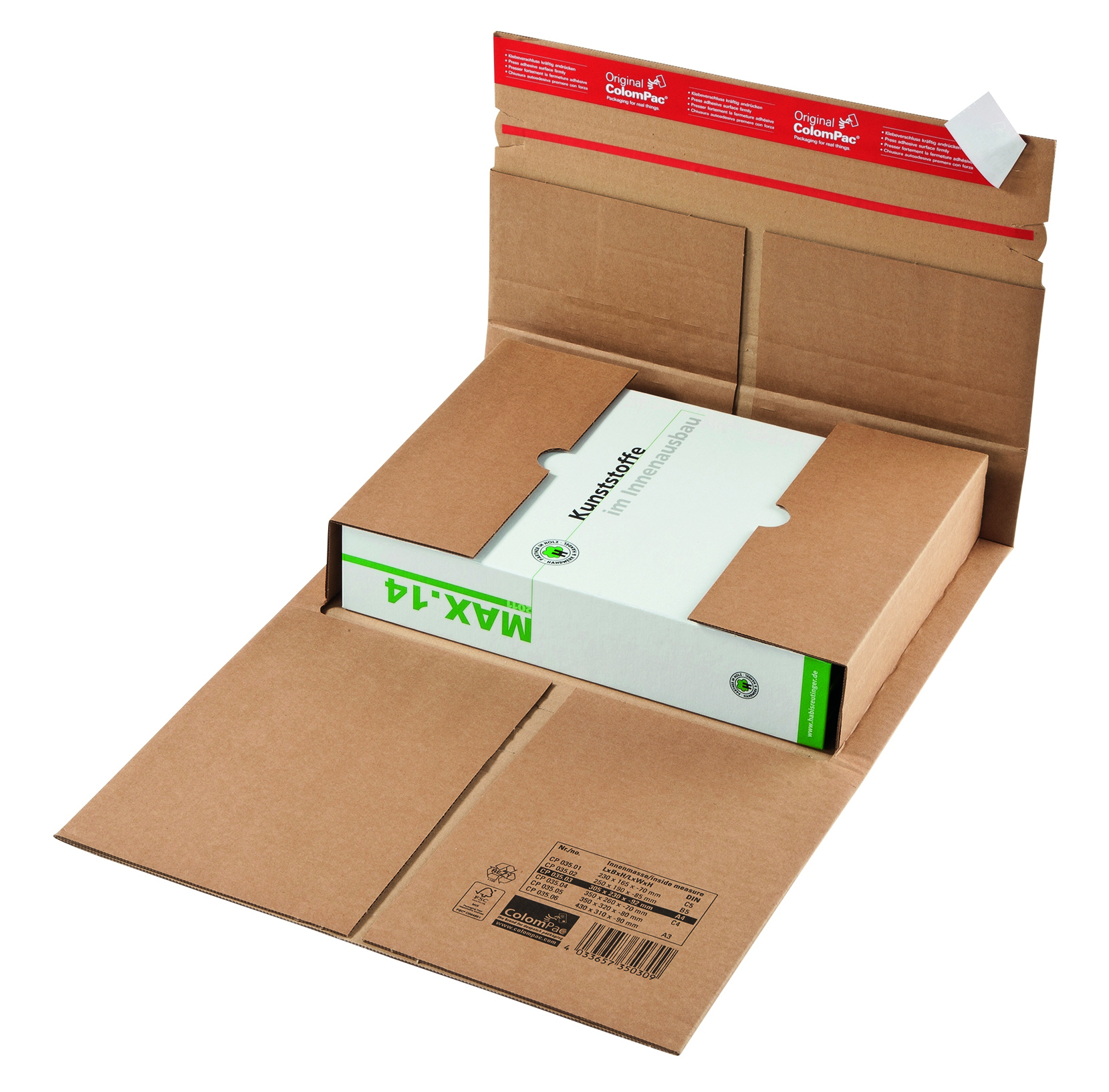Boekverpakking Colompac CP 35.01