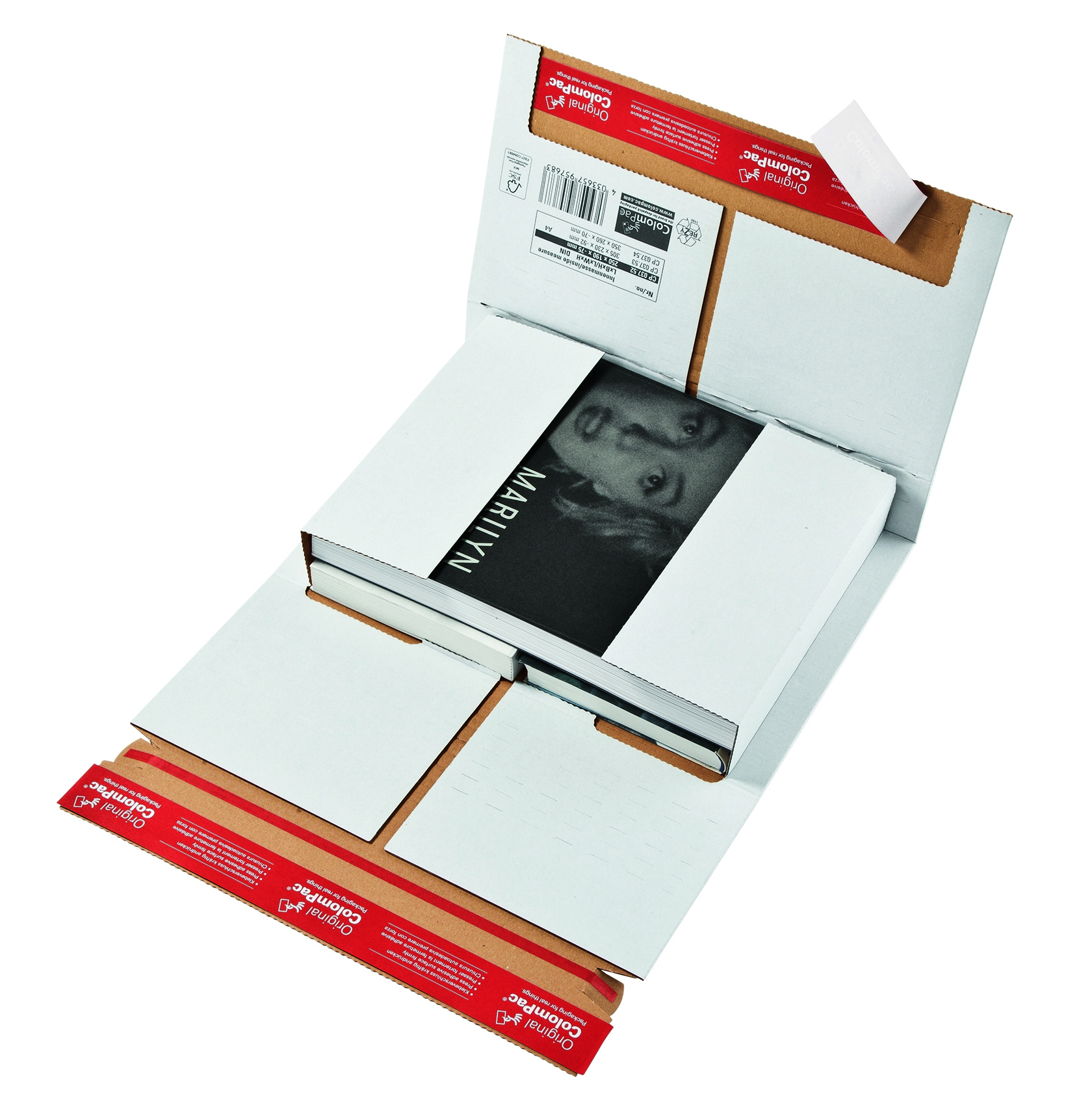 Boekverpakking Colompac CP 37.53