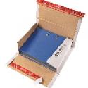 Colompac CP 55.51 witte minigolf kartonnen ordner verpakking formaat 320 x 290 x 35-80 mm