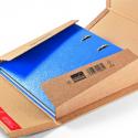 Colompac CP 55.01 bruine minigolf kartonnen ordner verpakking formaat 320x290x35-80 mm