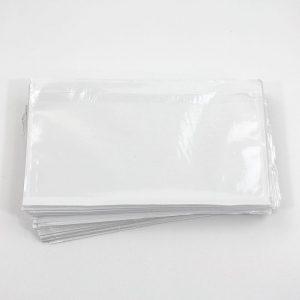 paklijst envelop C6 formaat 165x122 mm