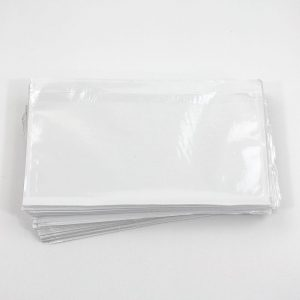 paklijst envelop formaat DL 225x122 mm