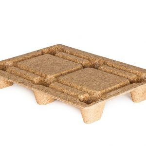 Inca pallets bruin 1200 mm x 800 mm