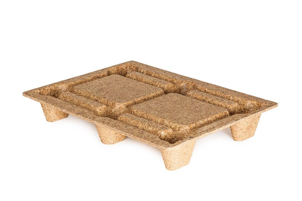 Inca pallets bruin 800 mm x 600 mm