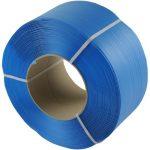 Omsnoeringsband blauw 12 x 0,63 mm x 3000 mtr
