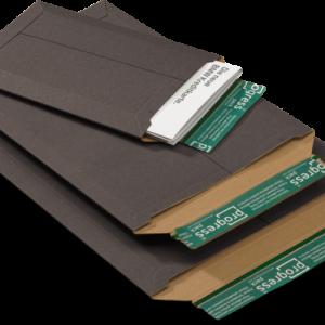 A3 kartonnen envelop zwart