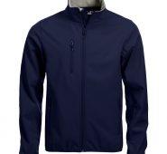 Clique basic softshell jacket dark navy maat XXL