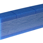 Schuimpads permanent zelfklevend 100 x 100 x 50 mm x 1,15 m