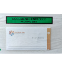 Papieren paklijstenvelop DL bedrukt Documents/Packinglist eco friendly